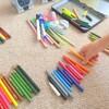 【育児】こどもと一緒に「だわへし」片づけ術でペン類を整理