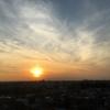 今日の夕陽☆
