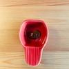 KALDI コーヒー粉のかわいいメジャースプーン(赤いの)