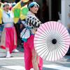 愛・彩媛:よさこい祭り@高知・菜園場競演場、10日