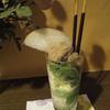 バラ寿司のあとは、思いつき和風パフェ。