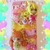 キャラパーツでデコiPhoneケースを作ってみたその11★キュアハート&キュアロゼッタ(ドキドキ!プリキュア )★