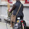 ベルギー 自転車のある風景
