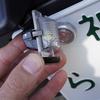 【ラングラーJL】ナンバー灯LED化、交換方法と注意点