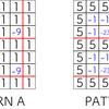 AGC016-C 「+/- Rectangle」 (700)