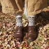 晩秋のオタク、靴下について熱くなる