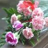 孫娘からの「敬老の日」花束