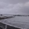 雪後の白山