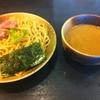 竹麺亭の魚介醤油つけ麺