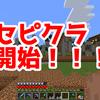 【宣伝】セピクラ始めました!!!【Minecraft】