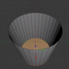 Blender で裏面表示用に厚みをつける