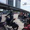 バンコクの通勤渋滞は凄いね。