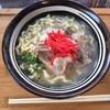大宜味村の和そば屋さん「美ゅうびゅう」でソーキそば!