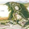 縄張図片手に廻る山中城 ニノ丸