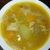 冬瓜とカボチャのスープみたいなん