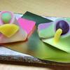 柏屋光貞(かしわやみつさだ)さんの雛祭りの上生菓子
