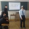 HoloLensを使った出前授業を鈴鹿高校で行いました