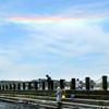 新潟西海岸突堤では環水平アークが出現!見れた釣り人はラッキー♪ただ、地震の前兆現象という説も、、