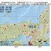 2016年09月25日 21時10分 兵庫県北部でM2.6の地震