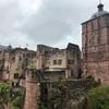 旅行記 ドイツ三大名城、雨のハイデルベルク城
