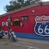 ルート66をレンタカーでラスベガスから走ってみた。セリグマン観光でお土産屋さんへ【映画カーズの舞台】