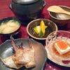 一汁三菜と鯛の鯛