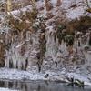 埼玉県秩父市大滝の氷柱を訪ねて