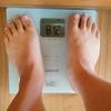 ブログを始めてからの体重推移
