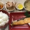 鮭塩焼き定食 @ヤマザキ