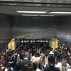4月25日上海地下鉄2号線が故障??歩いて会社まで行く羽目に。。。