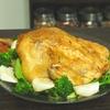 クリスマスに意外と簡単!丸鶏のローストチキンのレシピ!