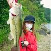【釣りガール修行】西湖、精進湖*初めての46cm