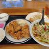 大網 中華の鉄人 唐揚げランチ+台湾ラーメンの日