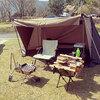初めてのソロキャンプ ・tent-Mark DESIGNS(テンマクデザイン)炎幕DX EVO