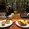 充実のヒルトン朝食バフェ+ UL CMB-NRT