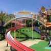 超巨大遊具のある萩谷総合運動公園に行きましょっか!