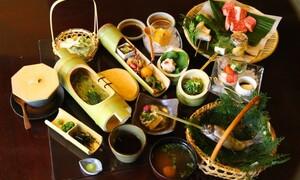 都内の日帰りグルメ&温泉 秋川渓谷の古民家料理屋「黒茶屋」