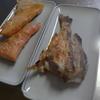 幸運な病のレシピ( 2088 )朝:鮭、メバル(100円)、味噌汁、マユのご飯