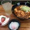 2016.11.10 豚角煮とマーボー豆腐のあんかけ麺、半熟玉子添え など