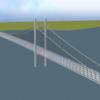 【RailSim】吊橋構築セット