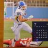 カレンダーを7月に変えました。昨年KGに甲子園ボウルへの道を開いてくれた選手が登場です。