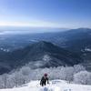 権現山から蓬莱山 雪の縦走 その1