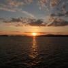夕陽を見ながら語ろう会。嬉しい時間でしたー^^