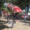 日曜日は渋谷の絵画教室と映画館へ〜代々木公園イベント広場ではよさこい祭りをやっていました〜