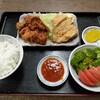 西川口の「あおき食堂」で鶏竜田と唐揚げ定食を食べました★