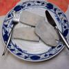 夕食:里芋の親芋をメインに