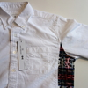uniform experiment SIDE STAR LEOPARD FLANNEL CHECK PANEL OXFORD B.D SHIRT