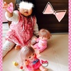 ☆ おしゃれヘアメルちゃんで遊ぶ《1歳7ヶ月》