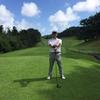 今日は1か月振り以上のゴルフラウンド!