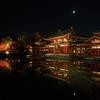 <期間限定>10円玉から想像できない平等院鳳凰堂の夜景!